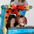 Three little children having fun — Stock Photo #31599775