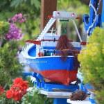 Fishing Boat Model — Stock Photo