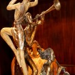 Statue of musicians — Stock Photo #39766979