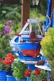 Fishing Boat Model — Stok fotoğraf
