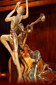 Statue of musicians — Stock Photo