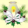 Christmas decoration — Vector de stock #13515359