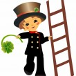 Chimney sweep — Stock Vector