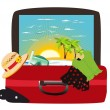 Stock Vector: Vacation