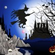 Halloween — Vector de stock #30475879