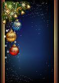 Noel dekorasyon, — Stok Vektör