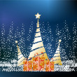 Christmas decoration, — Stock Vector