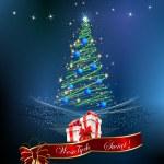 Christmas decoration of the Christmas tree, — Stock Vector #33098583