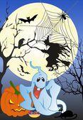 Halloween cukroví, — Stock vektor