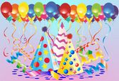 Carnival decorations, — Stock Vector