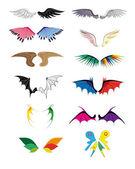 Wings. — Stock Vector