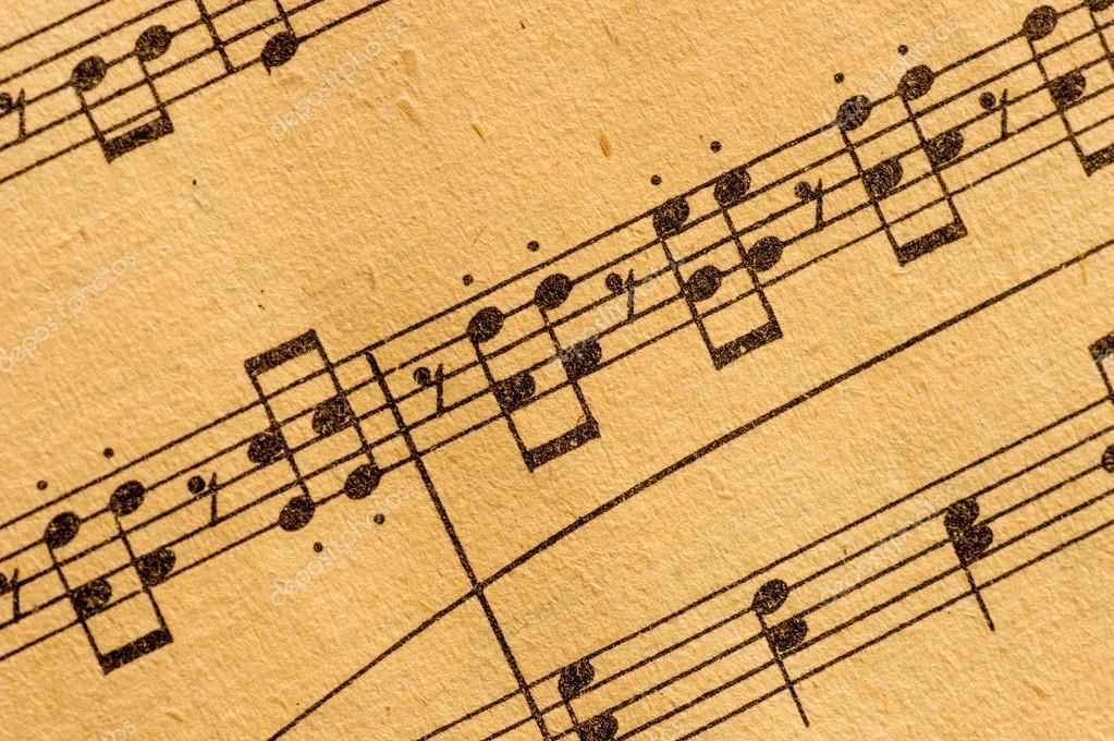 Musica classica spartiti di macro foto stock 12620082 for Musica classica