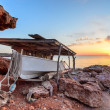 Formentera sunset - Stock Photo