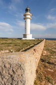 Cap de Barbaria Lighthouse — Stock Photo