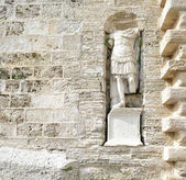 Sculpture Roman centurion — Stockfoto