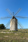 Windmill in Formentera — Stock Photo