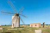 Windmill in Formentera — Stockfoto