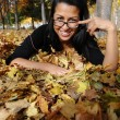 Girl in the park - Stockfoto