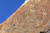Petroglyphs Tamgaly Tas — Stock Photo