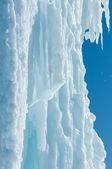 Niebo wody lodowej. — Zdjęcie stockowe