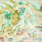 Famous prehistoric rock paintings. — Stock Photo