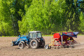 Tractor. agrimotor — Stock Photo