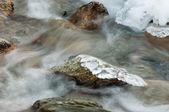 Ghiaccio sul fiume — Foto Stock