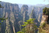 Zhangjiajie ancient mountains — Stock Photo