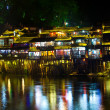 Night in town Fenghuang. — Stock Photo #15324729