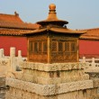 In the Forbidden City Beijing China - Stock Photo