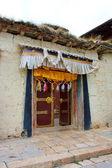 тибетский монастырь. шангри-ла. китай. — Стоковое фото