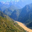 Tiger leaping gorge. Tibet. China. — Foto Stock
