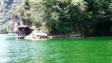 Baofeng lake. Zhangjiajie. China. — ストックビデオ