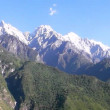 Tiger leaping gorge. Tibet. China. — Stock Video
