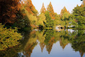 Landscape of West lake park. Hangzhou. China. — Foto Stock