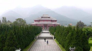 In Chongshen Buddhist monastery. Dali. China. — Stock Video