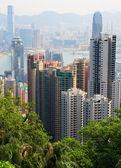 Landscape of Hong Kong. — Stock Photo