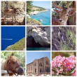 Zakynthos Island Collage, Greece, Zante, Zakintos — Stock Photo #32546973