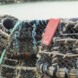 Lobster Pots Traps — Stock Photo #12804237