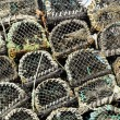 Stock Photo: Lobster and Crab Pots Traps