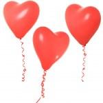 Valentine balloon — Stock Photo #11340312