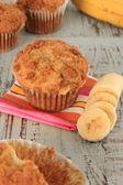 Banánový muffin — Stock fotografie