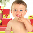 Christmas baby — Stock Photo #12726263
