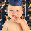 Happy baby boy graduate. — Stock Photo #13304500