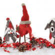 Christmas birds — Stock Photo