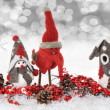 Christmas birds — Stock Photo #14753089