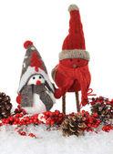 圣诞鸟 — 图库照片