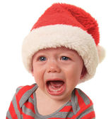 Crying Santa — Stock Photo