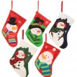 Christmas stockings — Stock Photo #15656851