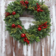 Christmas wreath — Foto Stock #15656839